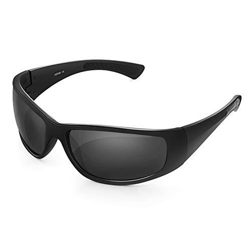 HODGSON Sonnenbrille Polarisiert Sportbrille für Herren und Damen mit TR90 UV400-Schutz, Radbrille, fahrradbrille für Autofahren Laufen Radfahren Angeln Golf