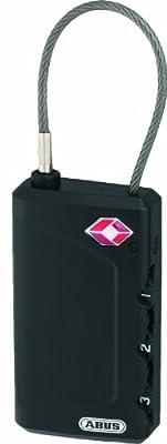 ABUS 530944 TSA-Zertifiziertes Kabelschloss 148/30 B
