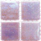 Vitreous Iridescent Mosaic Tiles 20mm Lilac Quartz
