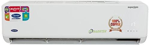 Carrier 1.5 Ton 4 Star Inverter Split AC (CACI18SU4I1, White)