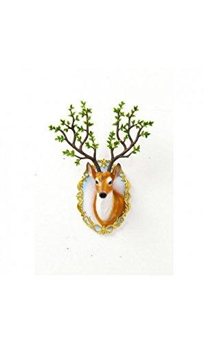 Kare Design - Trophée Tête de Cerf Bois Forest