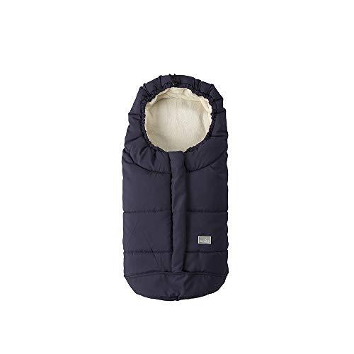Nuvita Caldobimbo City sacco termico invernale per ovetto e carrozzina (blu) universale caldo bimbo