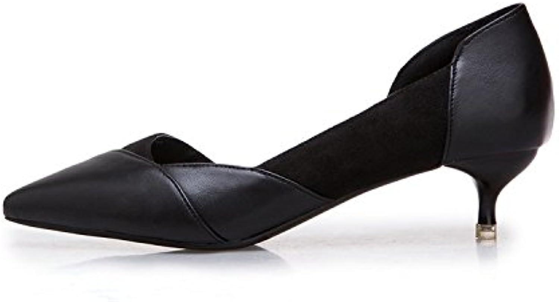 messieurs et mesdames avec les hauts talons, de couleur pâle nues avec mesdames de fines chaussures un ique au printem ps et à l'été la pointe sauvage noir (4.5cm banquet...pas si cher faire pleineHommes t usage du site officiel rr19654 matières a8d6f8