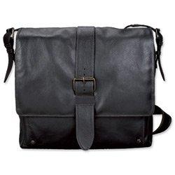 Marke Neu. Stolz und Soul Neo Umhängetasche Leder mit 40,6cm Laptop Abschnitt dunkelbraun Ref 47134 (Neo Umhängetasche)