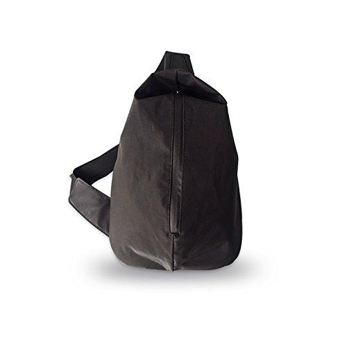 boshiho Brust Pack Leichte Tasche Sling Brust, Wasser frei Nylon Schulter Rucksack Cross Body Tasche für Herren (schwarz)