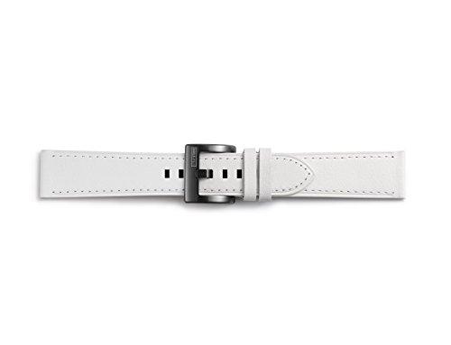 Samsung GP-R600BREEBAC Leder Armband für Gear Sport Weiß