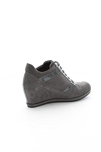 Geox D5454A2266 Sneaker Frau Grigio