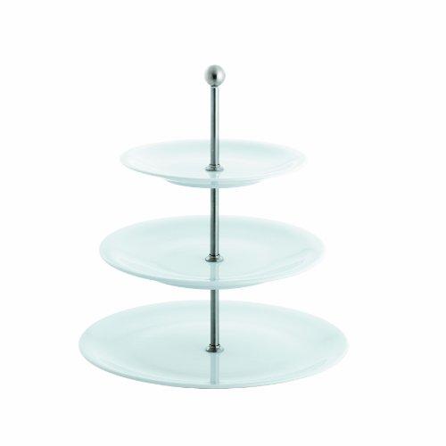 Kahla - Porcelaine pour les Sens 327811A90032C Update Présentoir à 3 Étages Blanc