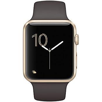 Apple Watch 1, 42mm, aluminio gold, Sportbracelet kakao