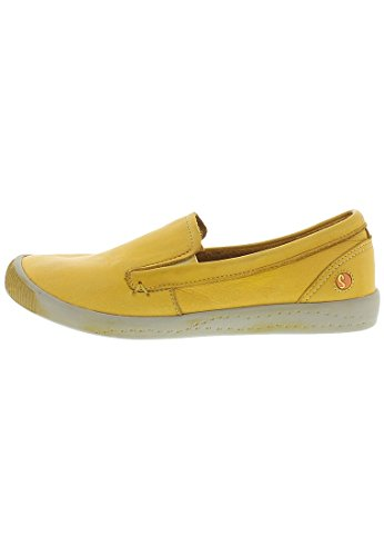 Softinos Ita Washed, Mocassins femme gelb