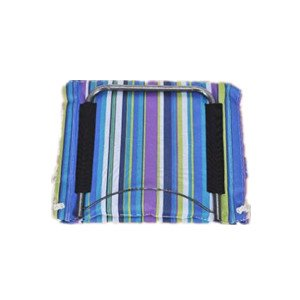 Dondolo sedia poltrona sospesa, Albero, strisce (Blu)