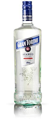 Gran Torino Wermut Bianco Authentisches und Traditionelles Rezept aus Turin - 1 x 100 cl.