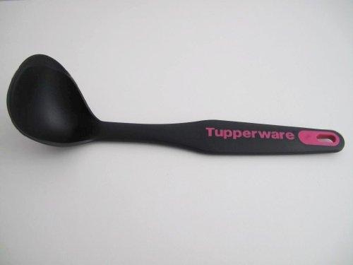 TUPPERWARE Griffbereit Kleiner Schöpflöffel pink-schwarz D172 TOP-Sauchenlöffel