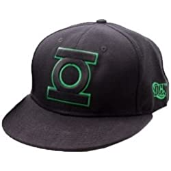 Gorra Plana con Logo de Linterna Verde