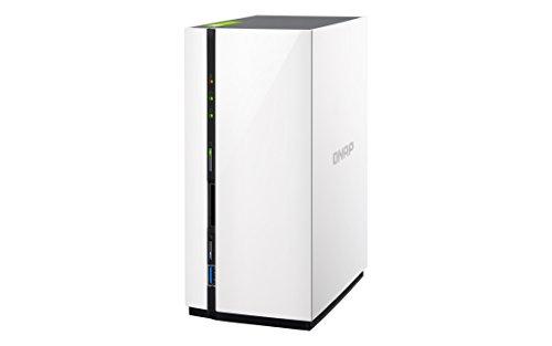 QNAP TS-228 6TB (2 x 3TB WD RED) 2 Bay Desktop NAS Einheit