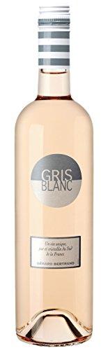 6x 0,75l - 2018er - Gérard Bertrand - Gris Blanc - Pays d'Oc I.G.P. - Languedoc - Frankreich - Rosé-Wein trocken (Languedoc Wein)