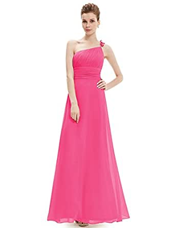 HE09596HP08,Hot Pink,8UK, Ever Pretty Sleeveless Cocktail Dresses UK 09596