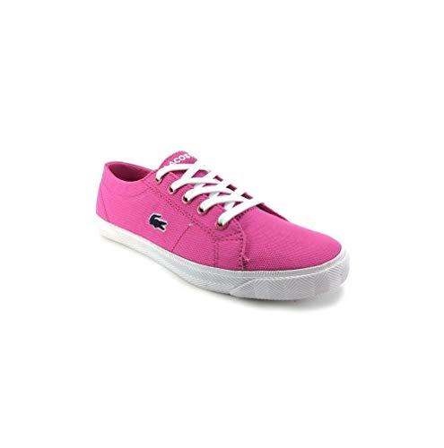 Lacoste, Jungen Sneaker Rosa rosa 34 (Lacoste Marcel Sneaker Kinder)