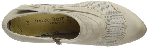 Marco Tozzi Premio 2-2-24417-22 2-2-24417-22 Damen Slipper, Braun (PEPPER ANTIC 344), EU 36 Braun (PEPPER ANTIC 344)