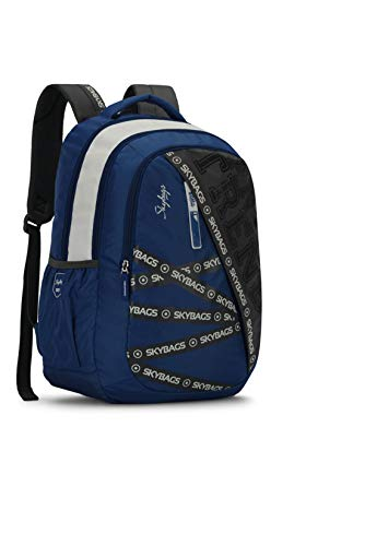 Best skybags backpack in India 2020 Skybags Figo Plus 01 34 Ltrs Blue Casual Backpack (FIGO Plus 01) Image 3