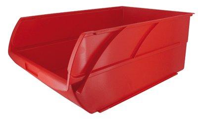 Stanley Caja organizadora Abierta, Espacio para Guardar Cosas de 21 litros, roja, 30,8 x 42,9 x 17,8 cm 056500-004