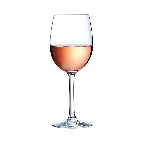 Chef & Sommelier ARC 46973 Cabernet Tulip Weinglas, 350 ml, Krysta Kristallglas, transparent, 6 Stück - Rack Französisch Wein
