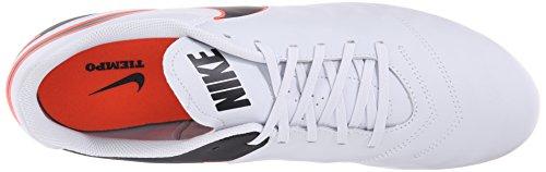 Nike Tiempo Genio Il Leather Fg, Chaussures de Football Compétition Homme, UK Multicolore (Pure Platinum/black)