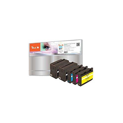 Preisvergleich Produktbild Peach Spar Pack Plus Tintenpatronen kompatibel zu HP No. 932XL, No. 933XL