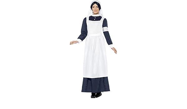 Ladies Fancy Dress Curves Nurse Costume Plus Size by Smiffys New