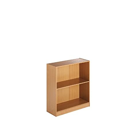 Low Bookcase - Beech, Heat And Stain Resistant Mfc By Ready Office - Height: 725 MM; Width: 756 MM; Depth: 306 MM - Color: