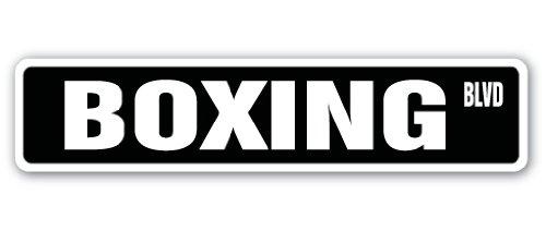 raßenschild Boxer Fighter Handschuhe Heavy Bag Trunk Sport Übung Ring Geschenk, Plastik, Grün, XL ()