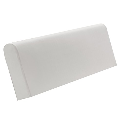 MagiDeal Staubdichte Dehnbare Bett Kopfteil Bezug Husse Abdeckung Schutzhülle, Farbwahl - Grau