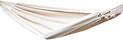 Hamaca XXL por 2 personas 400x160cm | Soporta hasta 150 kg | 100% algodón | Hamacas paracaídas AMANKA | en colores diferentes
