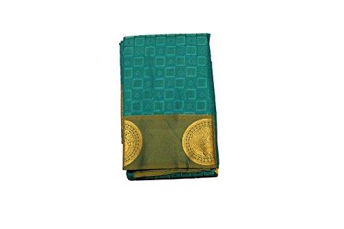 Kanchipuram Vallalar Silks Blue saree