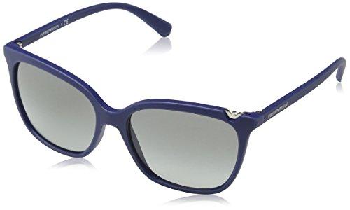 Emporio Armani Damen EA4094-560211-56 Sonnenbrille, Dark Blue Used Effect, 56