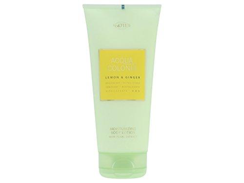 4711 Acqua Colonia Lemon & Ginger unisex, lozione per il corpo 200 ml, 1 pacchetto (1 x 0244 kg)