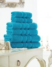 Coton Modus türkis Zero Twist 100% ägyptische Baumwolle Ultra Soft Handtücher/Badetücher & Bad Blatt, 2 Bath Towels (Ägyptische Bad Blatt)
