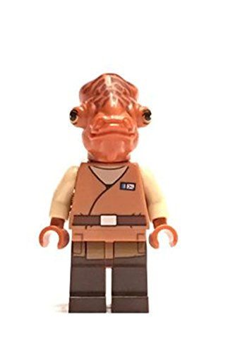 LEGO Star Wars : Minifigur Admiral Ackbar out of Set 75140 RARE