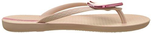 Ipanema Damen Maxi Fashion Ii Fem Zehentrenner Pink (Nude/Pink)