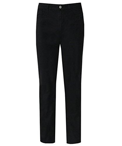 Emporio armani uomo j06 slim fit leggero twill tessuto jeans nero 52 regolari