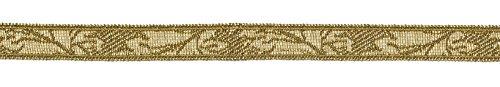 Ruther & Einenkel 18011/10-HLIV Borte Dekorationsband (Blatt) 10 mm, altgold / Aufmachung 5 (It Do Kinder Yourself Kostüm Für Ideen)