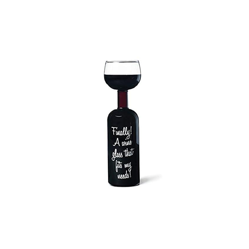 Weinflaschen-Glas 750ml Kuriositaeten-Weinglas, Riesen-Weinglas 1