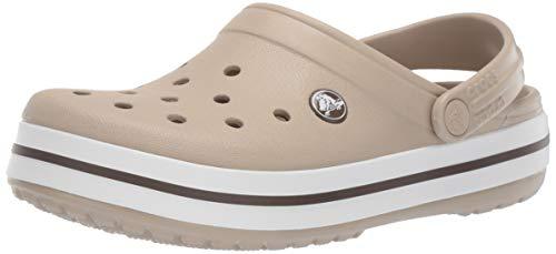 Crocs Crocband U, Zuecos Unisex Adulto, Beige (Cobblestone-Walnut 2t5), 38-39 EU