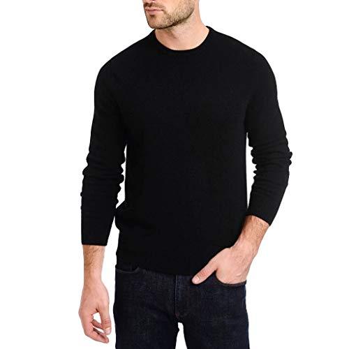 VBWER Männer Long-Sleeve Beefy Muskel Top Slim Fit Basic Sportlich Bequem Solid Bluse T-Shirt (Muskel Mann Kostüm Für Kleinkind)