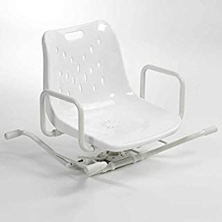 NRS Healthcare Adjustable Aluminum Swiveling Bath Seat (Eligible for VAT relief in the UK)