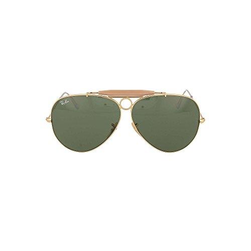 38d2ca8f96 Ray-Ban Aviator Large Metal, Gafas de sol para Hombre - Gafas de sol  Polarizadas 2018