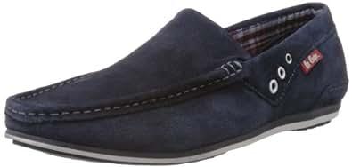 Lee Cooper Men's Blue Leather Loafers and Mocassins - 11 UK