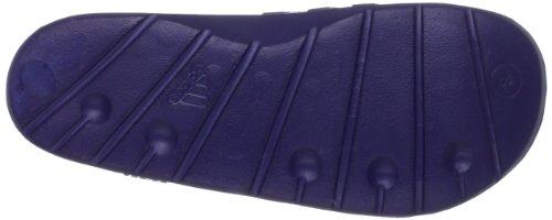 adidas Duramo Slide, Unisex-Erwachsene Zehentrenner ngtblu/raygrn/ngtblu