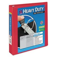 ** Heavy-Duty View Binder with One Touch EZD Rings, 1 1/2