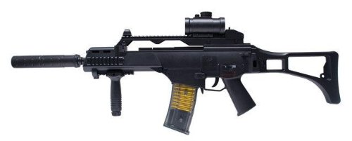 GSG Softair Gewehr Ksk-1 C Hw, schwarz, 200451 des Herstellers GSG